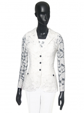 ORGANZA EMBROIDERED JACKET