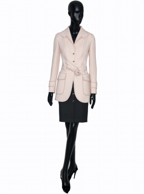 WOOL TRENCH STRETCH