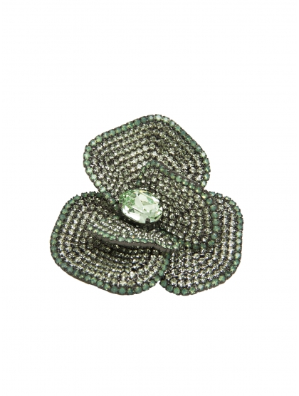 BROCHE FLOR CRYSTAL